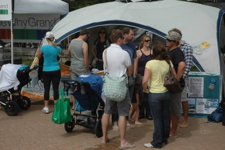 RealSurf and Surfrider's stall