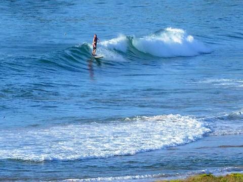 Booming set wave